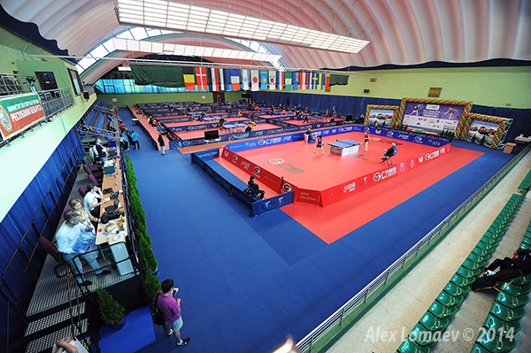 Настольный теннис ITTF World Tour Belarus Open 2014